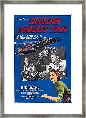 Decision Against Time, Aka The Man In Framed Print by Everett