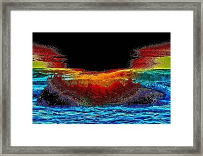 Brinkmanship Framed Print