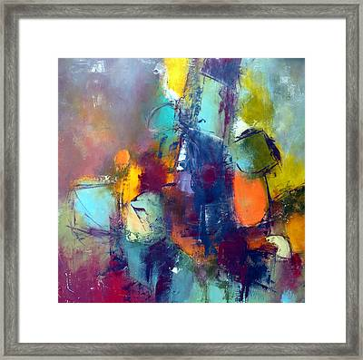 Framed Print featuring the painting Decisions by Katie Black