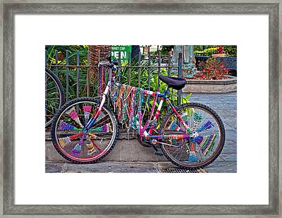 Decked Out Framed Print by Steve Harrington
