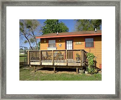 Decking Framed Print
