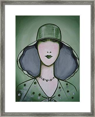 Deco Chic Framed Print by Leslie Manley