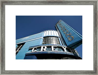 Deco Dog Framed Print by Lawrence Boothby