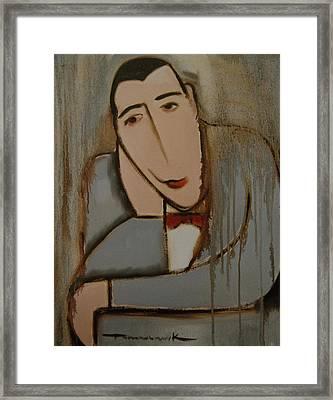 Deco Pee-wee Herman Art Print Framed Print