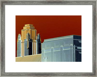 Deco Smith Center Framed Print by Randall Weidner