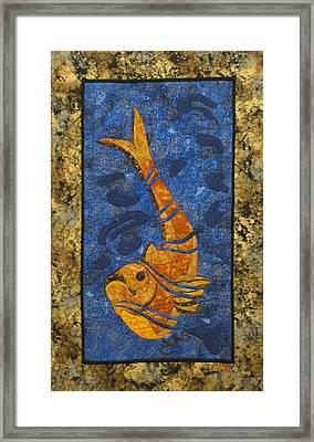 Deconstructed Fish Framed Print