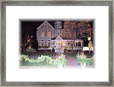 Decorated Home Framed Print by Kathleen Struckle