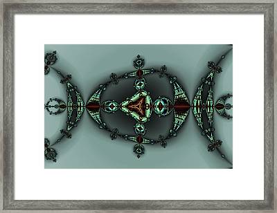 Decorated Tricorn Framed Print by Mark Eggleston