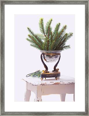 Decorating For Christmas Framed Print