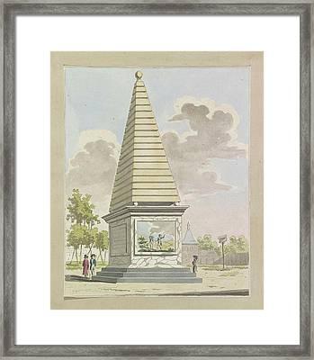 Decoration In Plantation, 1795 Framed Print