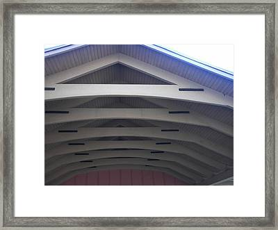 Decorative A Framing Framed Print