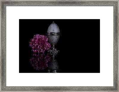 Decorative Jewel Egg Framed Print by Eje Gustafsson