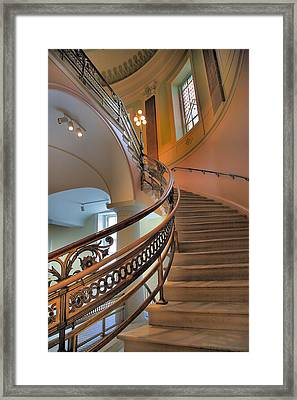 Decorative Stairway Framed Print by Steven Ainsworth