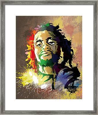 Dedan Kimathi - Freedom Fighter Framed Print