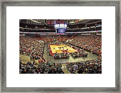 Dedicated Fans Framed Print by Robert Saunders Jr