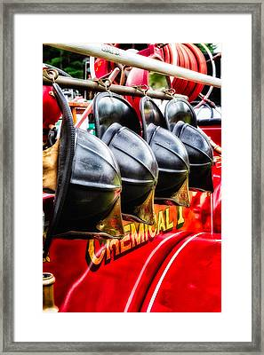 Dedicated To The Brave Framed Print by Jeff Sinon