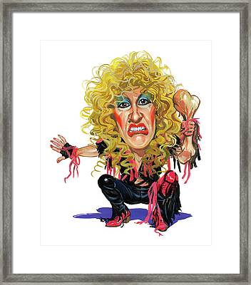 Dee Snider Framed Print by Art