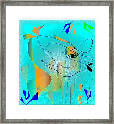 Deeep Below Framed Print