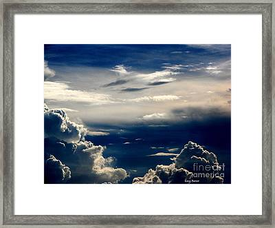 Deep Blue Framed Print by Greg Patzer