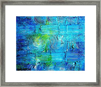 Deep Blue Sea  Framed Print by Ben Asayag