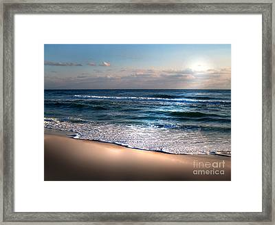Deep Blue Sea Framed Print by Jeffery Fagan