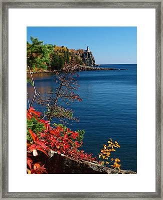 Deep Blue Superior Framed Print