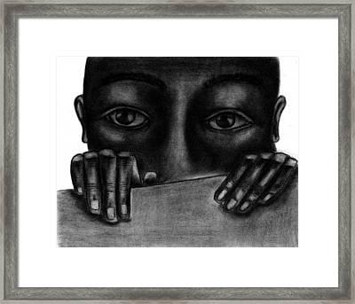 Deep Framed Print by Charonda Taylor