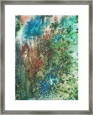 Deep Down - To The Soul Of The Sea Framed Print