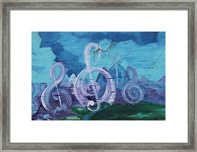 Deep Ellum Means Music Framed Print by Lorri Crossno