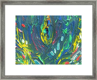 Deep Forest Framed Print by Amy Drago