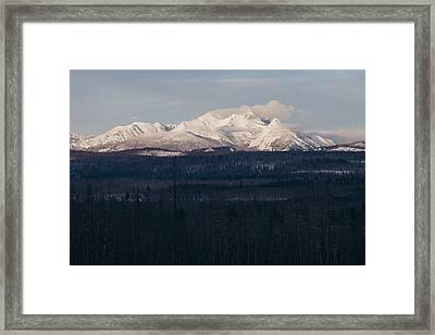 Deep Freeze Of The North Fork Framed Print by Cody Payne
