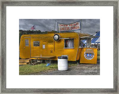 Framed Print featuring the photograph Deep Fried Cheese Curds by Trey Foerster