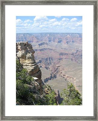 Deep Grand Canyon Framed Print