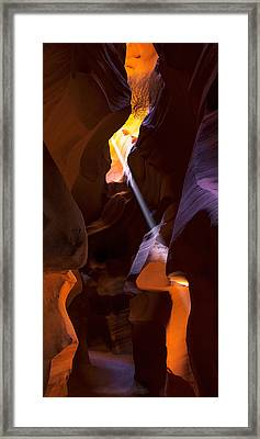 Deep In Antelope Framed Print by Chad Dutson