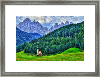 Deep In The Mountains Framed Print by Midori Chan