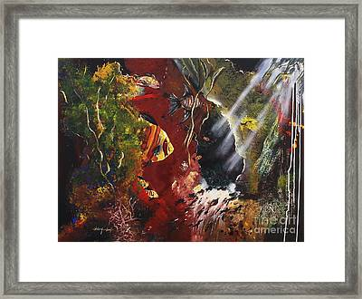 Deep In The Sea Framed Print