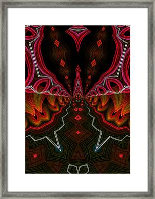 Framed Print featuring the digital art Deep In Thought by Owlspook
