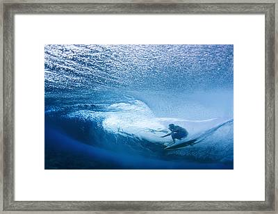 Deep Inside Framed Print by Sean Davey