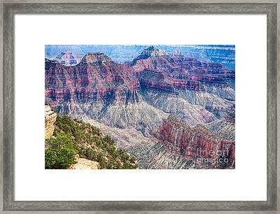 Deep Inside The Grand Canyon 2 Framed Print
