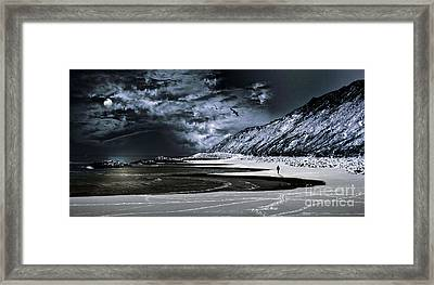 Deep Into That Darkness  Framed Print by Stelios Kleanthous