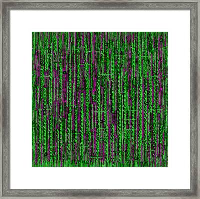Deep Into The Rainforest Framed Print