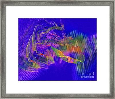 Deep Life 1 Framed Print