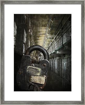 Deep Lockdown Alcatraz Framed Print by Daniel Hagerman