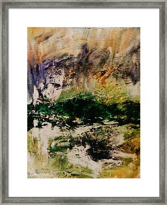 Deep Longing Framed Print by Marina R Vladis