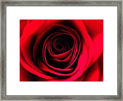 Deep Love Framed Print by Shirley Sirois