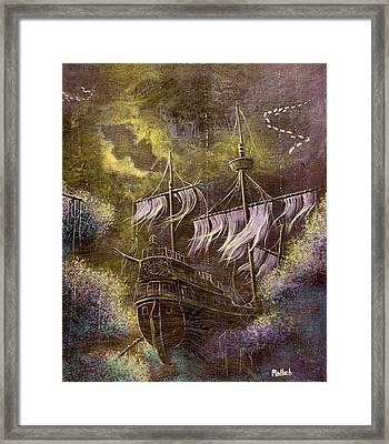 Deep Peace Framed Print
