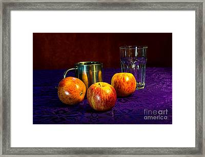 Deep Purple Framed Print by Donald Davis
