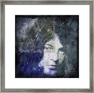 Deep Purple - Smoke On The Water Framed Print