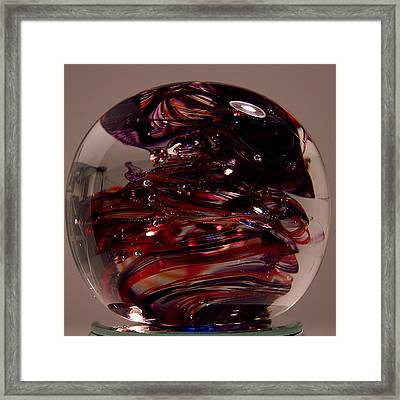 Deep Reds Prr1 Framed Print by David Patterson