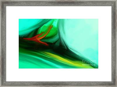 Deep Sea Framed Print